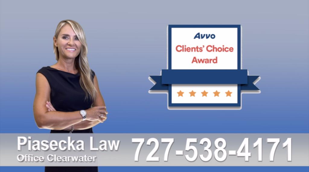 New Port Richey Polish, attorney, polish, lawyer, clients reviews, clients choice avvo award